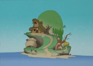 さるかに島のコピー