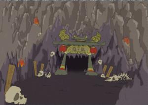 鬼が島門のコピー